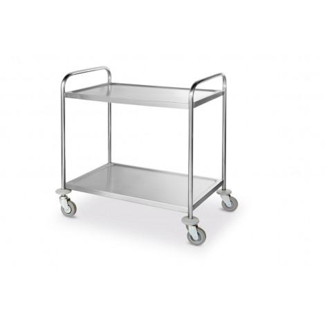 Serveringsvagn i rostfritt - flatpack för bästa pris