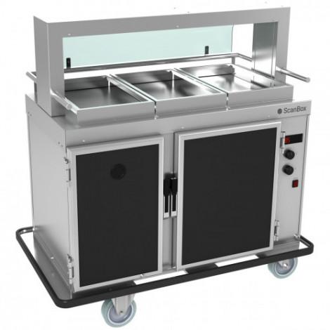 Transportbox - Food2Go Ambient + Hot A7+H7 - Scanbox - Finns hos storköksbutiken.se